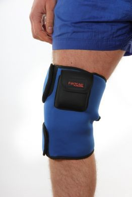 Heated knee support