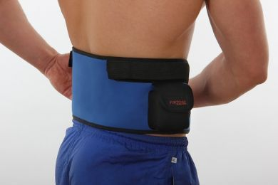 Heated waist support